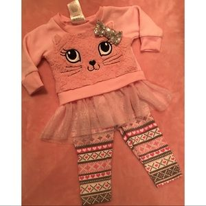 😻Baby Girl kitty outfit